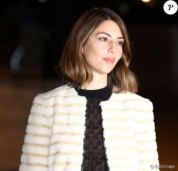 Sofia Coppola - Inauguration de la Fondation Louis Vuitton à Paris le 20 octobre 2014.