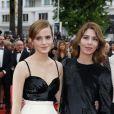 "Emma Watson et Sofia Coppola (Equipe du film ""The Bling Ring"") à Cannes le 16 mai 2013."