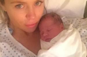 Abbey Clancy maman : L'épouse sexy de Peter Crouch a accouché de leur 2e bébé
