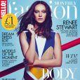 Renée Stewart (fille de Rod Stewart et Rachel Hunter) en couverture du numéro de juillet 2015 du magazine Hello Fashion.
