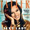 Renée Stewart en couverture du magazine Tatler. Numéro de février 2015.