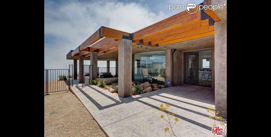 La maison que Caitlyn Jenner habite depuis le mois de février 2015. Très isolée, cette villa est située sur les hauteurs de Malibu en Californie.