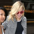 Kate Hudson se promène à New York, le 4 juin 2015. Selon Us Weekly, Kate Hudson seriat à nouveau ensemble Derek Hough.