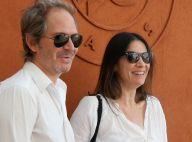 Roland-Garros 2015 : Géraldine Pailhas et Anne-Sophie Lapix avec leurs amoureux