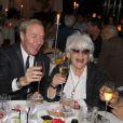 Exclusif - Sophie Davant, Tony Gomez, Catherine Lara - Catherine Lara fête son 70ème anniversaire au Fouquet's à Paris le 30 mai 2015.30/05/2015 - Paris