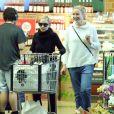 Exclusif - No Web - No Blog - Prix Spécial - Nicole Richie et sa belle soeur Cameron Diaz font des courses ensemble dans un supermarché Le 09 Mai 2015
