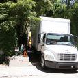 Exclusif - Des camions de déménagement ont été vus devant le domicile de Nicole Richie et de Joel Madden et depuis quelques jours des rumeurs à propos d' une séparation entre Nicole et Joel circulent partout sur le net Le 08 mai 2015