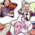 Isabelle Yacoubou, son mari Simone Fulciniti et leur fils - photo publiée sur le compte Instagram de la joueuse le 20 février 2015