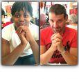 Isabelle Yacoubou et son mari Simone Fulciniti - photo publiée sur le compte Instagram de la joueuse le 20 septembre 2014