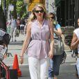 """Kate Upton sur le tournage du film """"The layover"""" à Vancouver, le 27 mai 2015."""