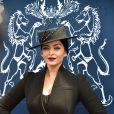 Aishwarya Rai - Prix de Diane Longines à l'hippodrome de Chantilly le 14 juin 2015.