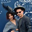 Lilly Wood & the Prick - Prix de Diane Longines à l'hippodrome de Chantilly le 14 juin 2015.