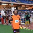Sydney Govou lors du Charity Football Game au Grand Stade de Marrakech, le 14 juin 2015