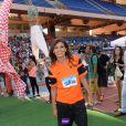 Nawell Madani lors du Charity Football Game au Grand Stade de Marrakech, le 14 juin 2015