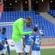 Brahim Takioullah lors du Charity Football Game au Grand Stade de Marrakech, le 14 juin 2015