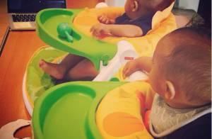Zoe Saldana, maman aux anges : Ses jumeaux de 6 mois sont ses premiers fans