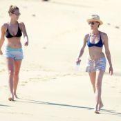 Robin Wright et Dylan Penn : Mère-fille complices en bikinis pour leurs vacances