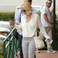 Britney Spears se rend à un rendez-vous d'affaires dans le quartier de Westlake, Los Angeles, le 13 juin 2015