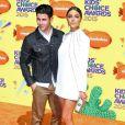 "Nick Jonas et Olivia Culpo - People à la soirée ""Nickelodeon's 28th Annual Kids' Choice Awards"" à Inglewood, le 28 mars 2015"