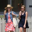Exclusif - Reese Witherspoon et sa fille Ava à Venice Beach, Los Angeles le 7juin 2015.