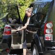 Exclusif - Reese Witherspoon passe chez son ex-mari Ryan Philippe à Los Angeles le 8 juin 2015.