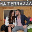 Lola Dewaere et Samuel Le Bihan, lors de l'ouverture de la Terrazza Martini, à Paris, le 18 juin 2015.