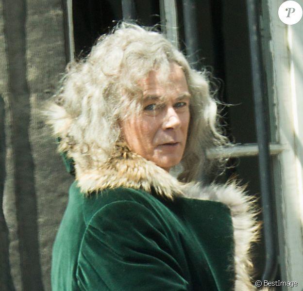 """Exclusif - Franck Dubosc - Tournage du film """"Les Visiteurs 3"""" à Bruxelles le 10 juin 2015"""