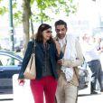 """Exclusif - Ary Abittan - Tournage du film """"Les Visiteurs 3"""" à Bruxelles le 10 juin 2015"""