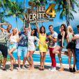 Photo officielle du casting de L'ile des Vérités, saison 4