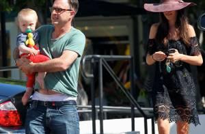 David Arquette et Christina McLarty : Leur fils Charlie est déjà un grand garçon
