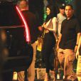 17-year-old reality star Kylie Jenner headed out of Pinz Bowling Center in Studio City on Saturday night after celebrating her older sister Khloe Kardashian's birthday. Los Angeles, CA, USA on June 27, 2015. Photo by GSI/ABACAPRESS.COM29/06/2015 - Los Angeles