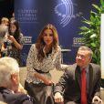 Rania de Jordanie avec son époux le roi Abdullah II le 22 septembre 2014. Instagram.