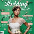 Malika Ménard : divine en mariée en couverture de Wedding Normandie