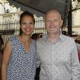 """Exclusif - Isabelle Giordano et Jean-Paul Salomé (président d'UniFrance Films) - Soirée UniFrance films à l'occasion de la """"Fête du cinéma"""" à Paris le 2 juillet 2015."""