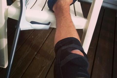 Leonard Trierweiler: Blessé après une chute en scooter, il taquine Louis Sarkozy