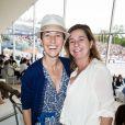 Exclusif - Alexia Laroche-Joubert, Coco Coupérie-Eiffel lors du Paris Eiffel Jumping du Longines Global Champions Tour, le 5 juillet 2015 sur le Champs-de-Mars à Paris