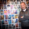 """Exclusif - Vincent Ferniot - Vernissage de l'Exposition """"Murs-Murs"""" de Jerôme Revon à la galerie Catherine Houard à Paris le 13 novembre 2014.13/11/2014 - Paris"""