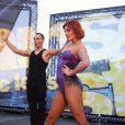 """Fauve Hautot - Spectacle """"Danse avec les stars"""" lors du 55e Festival de Télévision de Monte-Carlo à Monaco, le 14 juin 2015."""