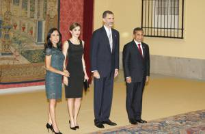 Letizia d'Espagne : Sa parade somptueuse pour le président péruvien et sa femme