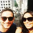 Frank Lampard et sa fiancée Christine Bleakley à New York - photo publiée le 3 juillet 2015