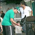 Adam Sandler et sa fille au Zoo