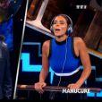 Nikos et Shy'm dans VTEP, le 11 juillet 2015 sur TF1.