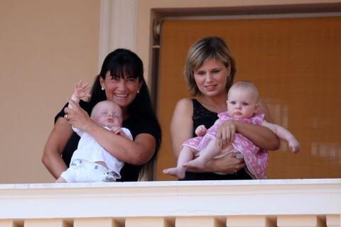 Albert et Charlene : Jacques et Gabriella gâtés au balcon, Sacha applaudit !