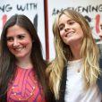 Cressida Bonas et Laura-Jane Foley lors du photocall de la pièce de théâtre An Evening with Lucian Freud à Londres, le 21 mai 2015.