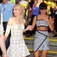 Emma Roberts et Lea Michele - 3e jour de la convention Comic-Con, photocall Scream Queens à San Diego, le 11 juillet 2015