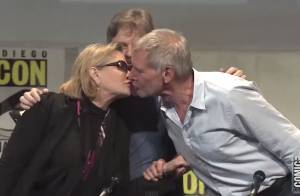 Harrison Ford, Carrie Fisher, Mark Hamill: Tendres retrouvailles pour Star Wars