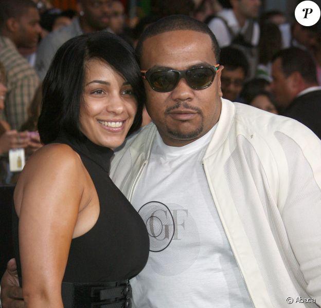 Timbaland et sa femme à la première de G.I. Joe : The Rise of Cobra', à Los Angeles, le 6 aout 2009