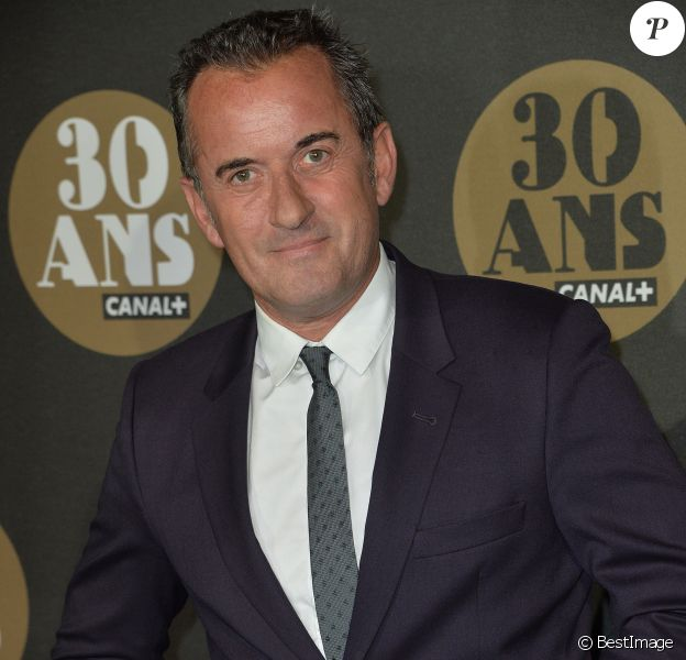 Christophe Dechavanne - Soirée des 30 ans de Canal + au Palais de Tokyo à Paris le 4 novembre 2014.