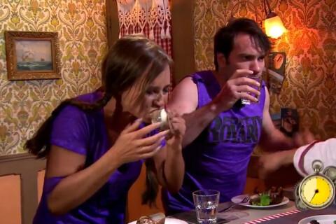 Fort Boyard : Nathalie Marquay, prise de nausées en goûtant des escargots géants
