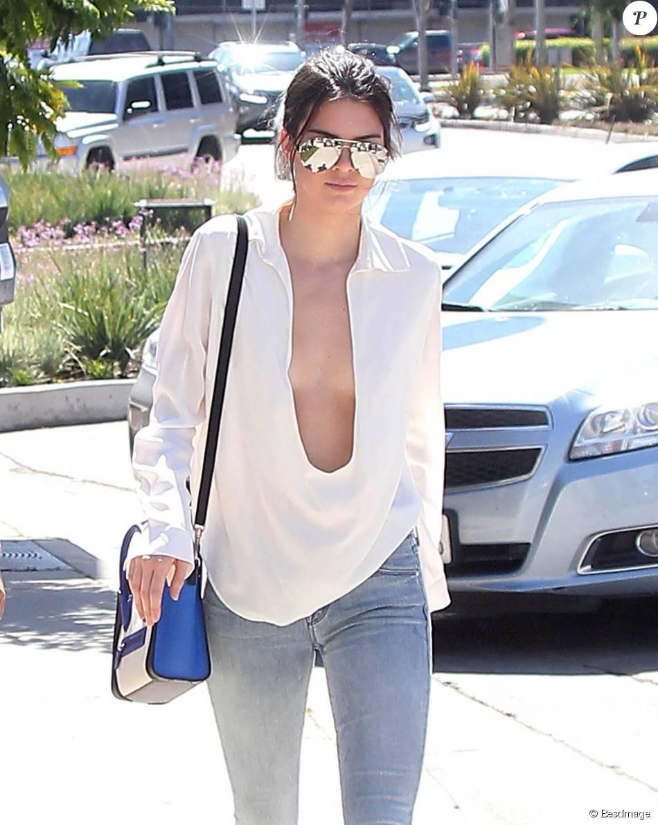 Kendall Jenner à Los Angeles le 14 juillet 2015.
